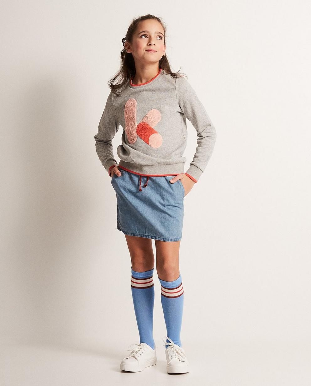 Sweater mit Bouclé-Print - Ketnet - Ketnet